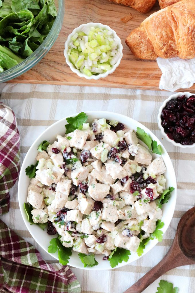 Turkey Salad with Cranberries