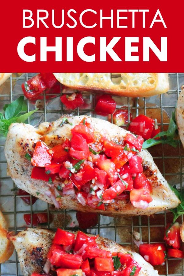 Healthy Bruschetta Chicken Recipe