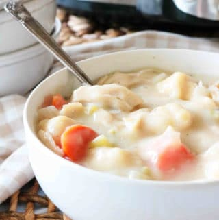 Crock-pot Chicken and Dumplings