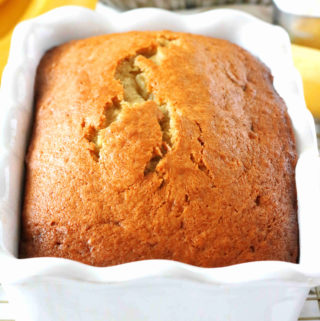 Banana Bread with Sour Cream