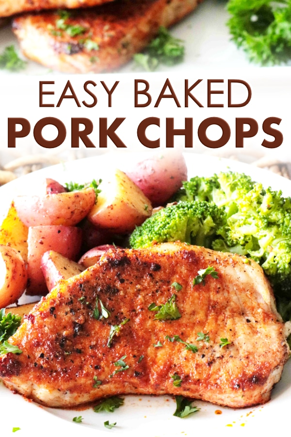 Pork Chop Image for Pinterest