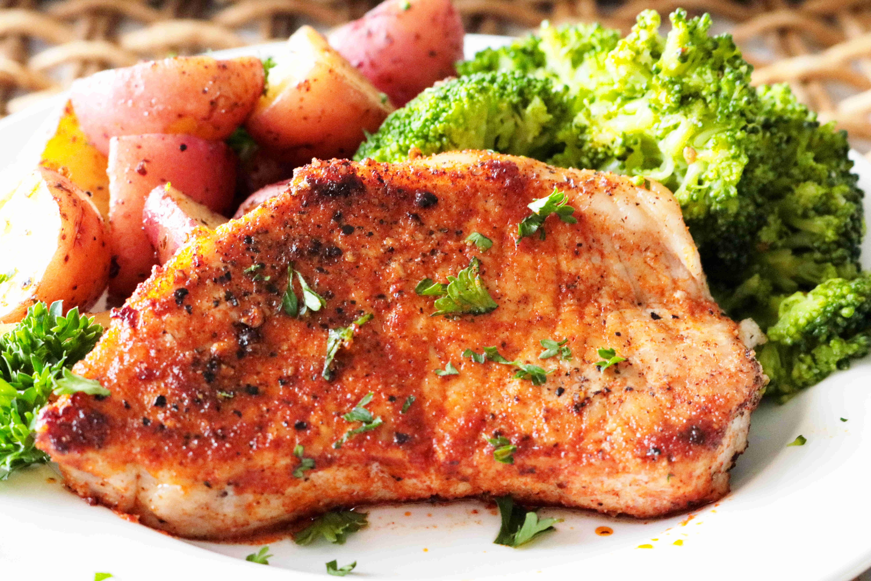 Recipie For Thin Pork Chops / Thin Boneless Pork Chop ...