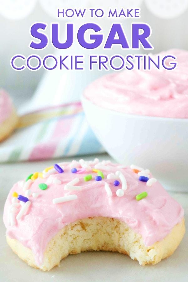 Sugar Cookie Frosting Recipe